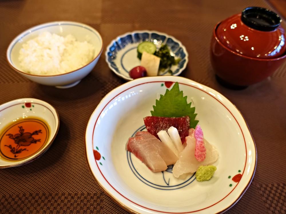 長野・信州・別所温泉旅館花屋の夕食
