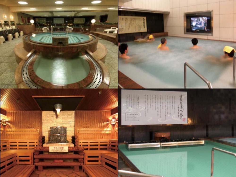 札幌 カプセルホテル ニコーリフレ風呂