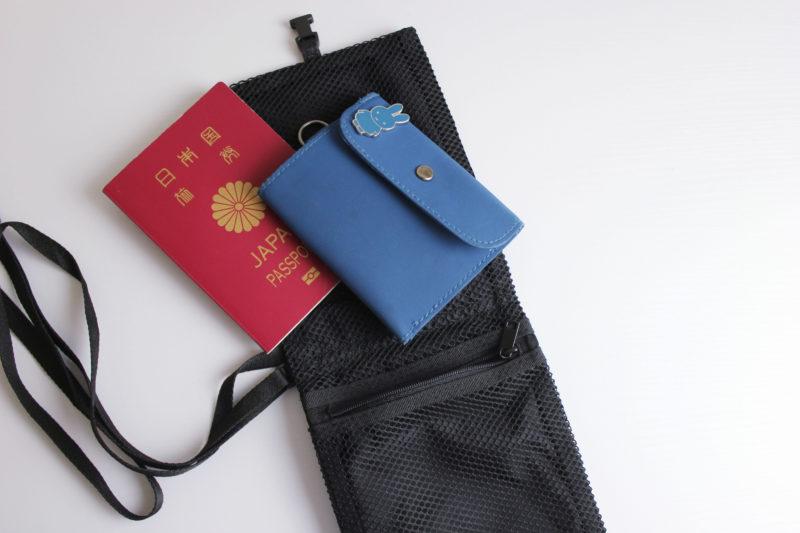旅行の便利グッズの無印良品のパスポートケース