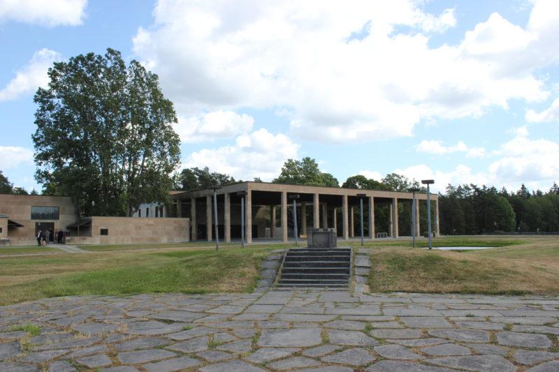 スウェーデンのスコーグスシュルコゴーデンの森の礼拝堂