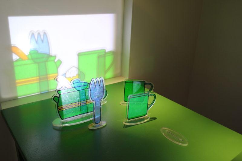 オランダユトレヒトのミッフィーミュージアムの知育おもちゃ