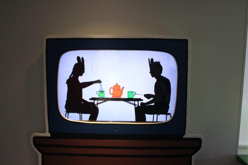 オランダユトレヒトのミッフィーミュージアムのミッフィー映像