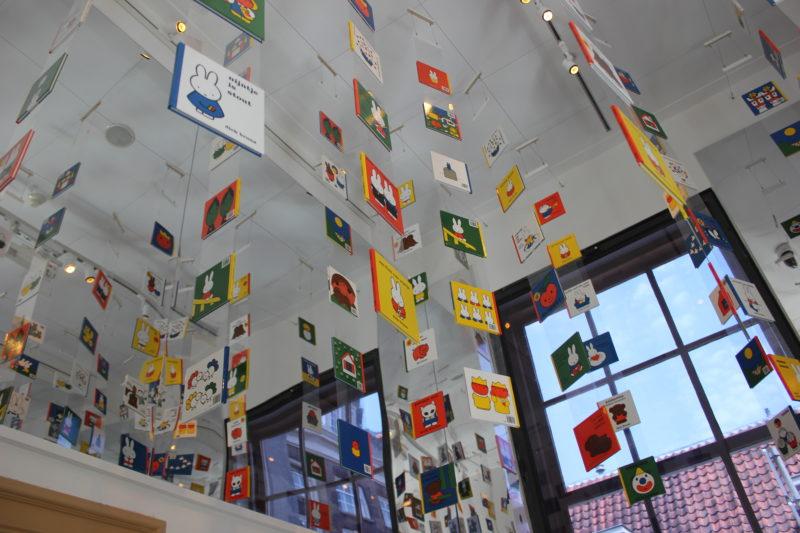 オランダユトレヒトのミッフィーミュージアムの絵本達