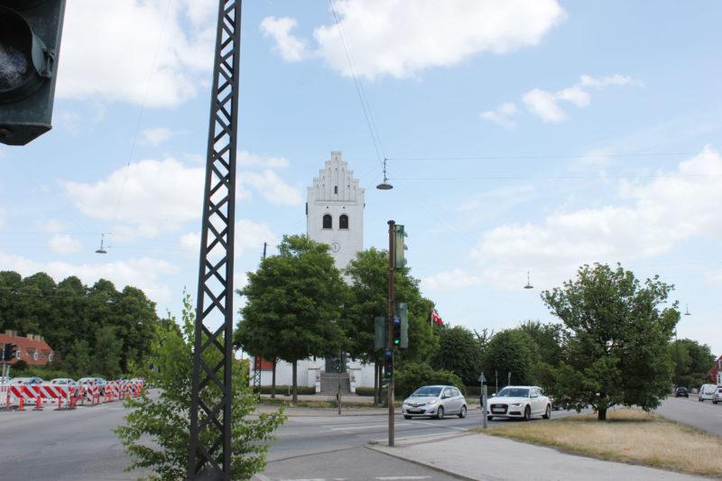 デンマークの小さな教会