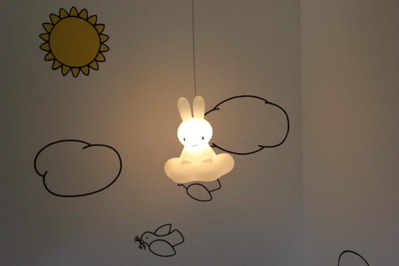 オランダユトレヒトのミッフィーミュージアムのミッフィーのライト