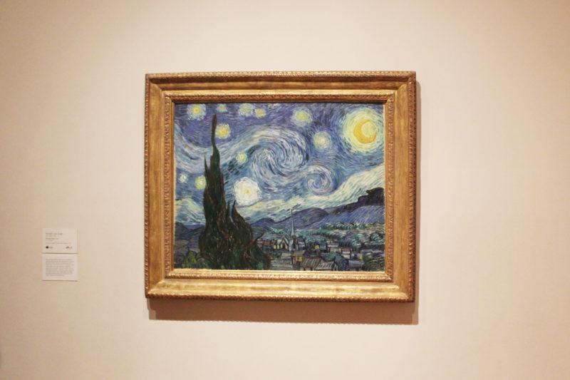 MoMA美術館ゴッホの星月夜