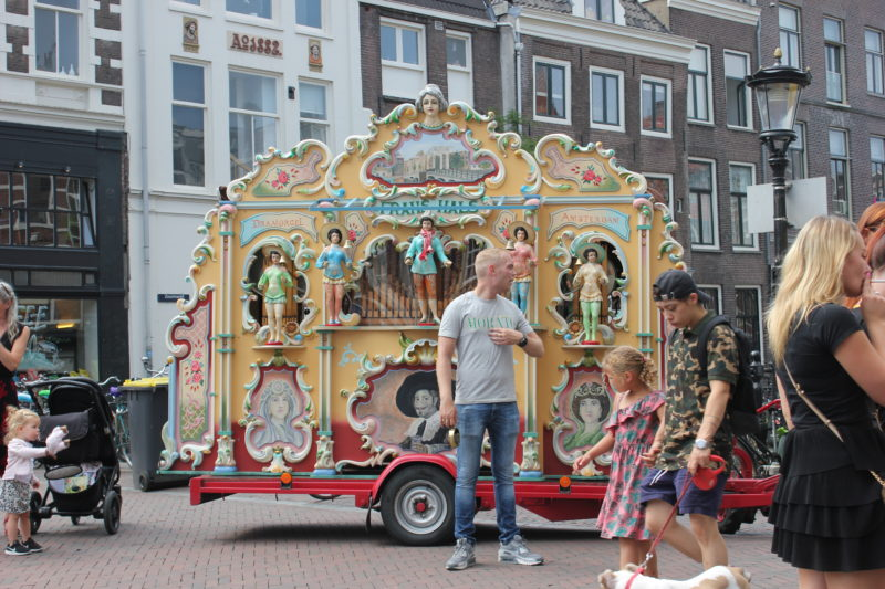 オランダユトレヒトの街並み