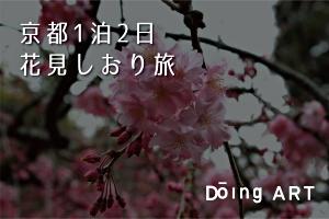 京都1泊2日花見しおり旅