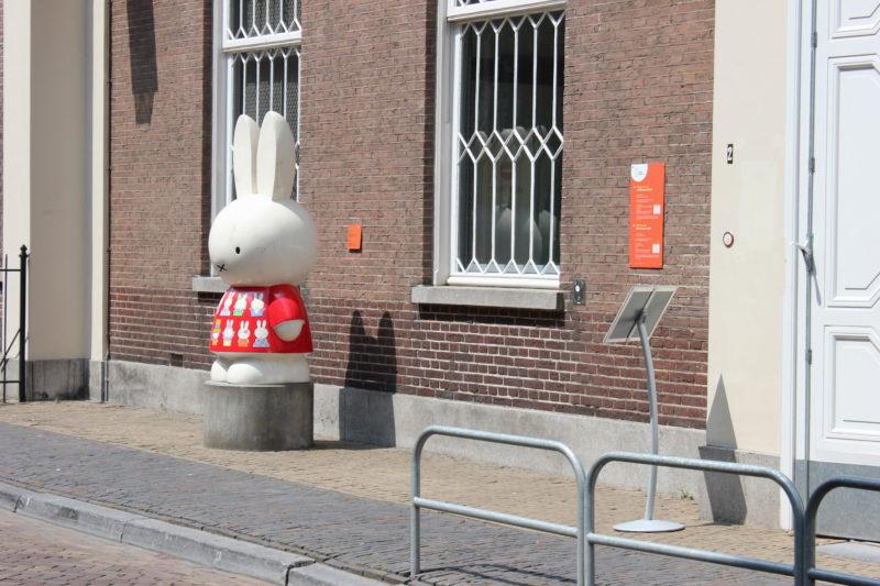 オランダユトレヒトのミッフィーミュージアムのミッフィー