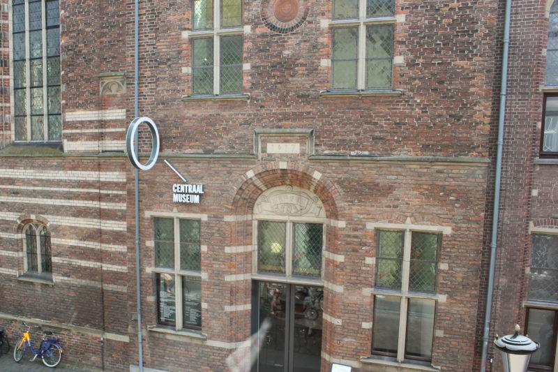 オランダユトレヒトのミッフィーミュージアム向かいのセントラルミュージアム