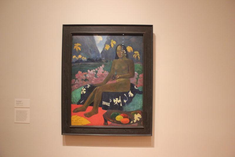 MoMA美術館のゴーギャンの絵画