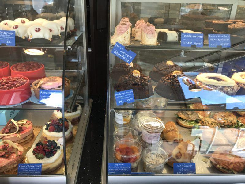 デンマークのパン屋さんBodenhoffのケーキ達