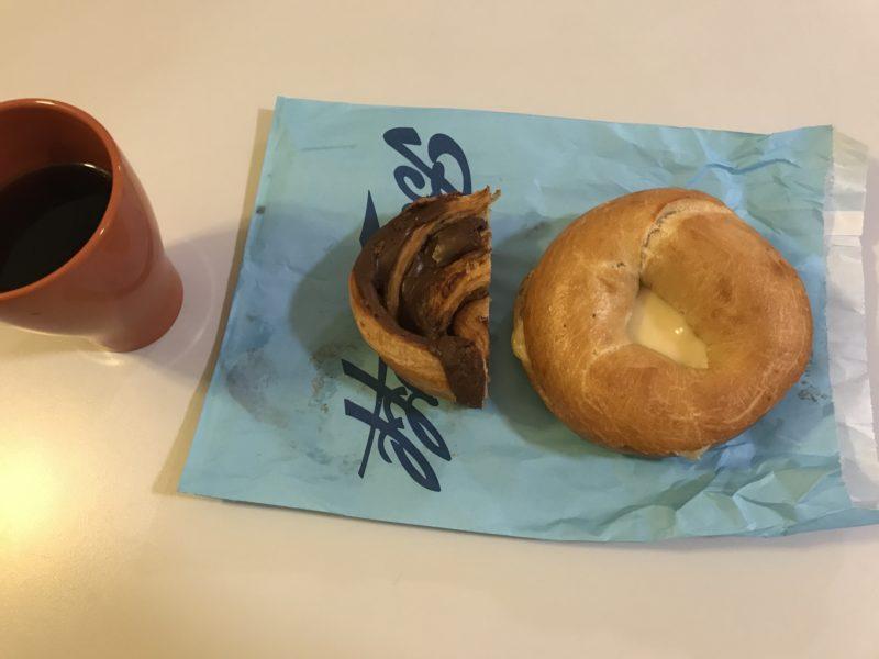 デンマークのパン屋さんBodenhoffのパンで朝ごはん