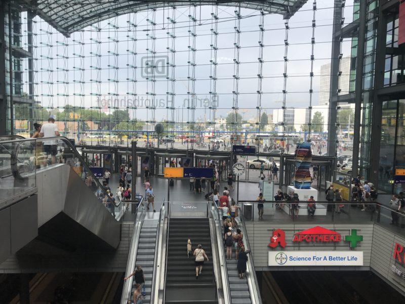 ドイツ_ベルリンセントラル駅
