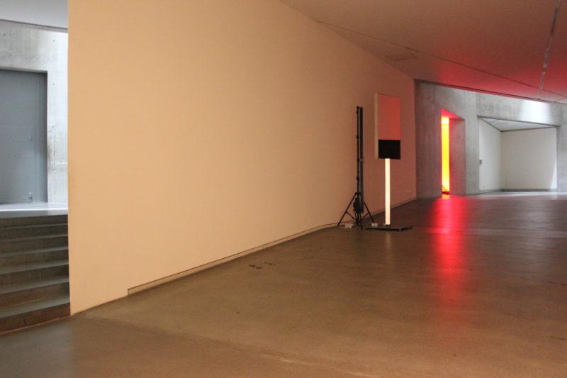 ドイツベルリンユダヤ博物館の赤い部屋