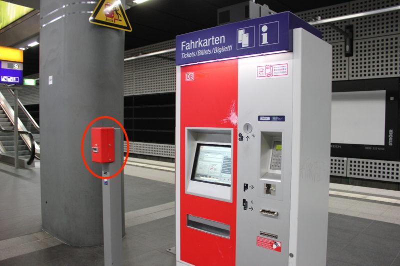 4_ドイツの券売機と打刻機