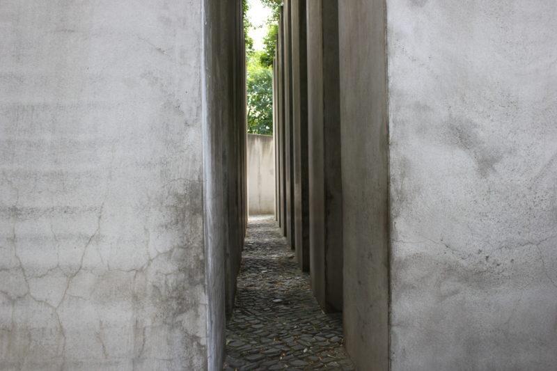 ドイツベルリンユダヤ博物館の亡命の庭