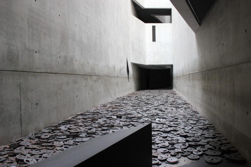 ドイツベルリンユダヤ博物館の記憶のヴォイド