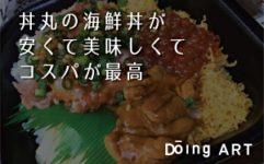 丼丸の海鮮丼が安くて美味しくてコスパが最高