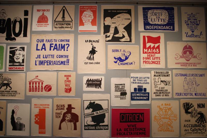デザインミュージアムデンマークのシルクスクリーンポスター