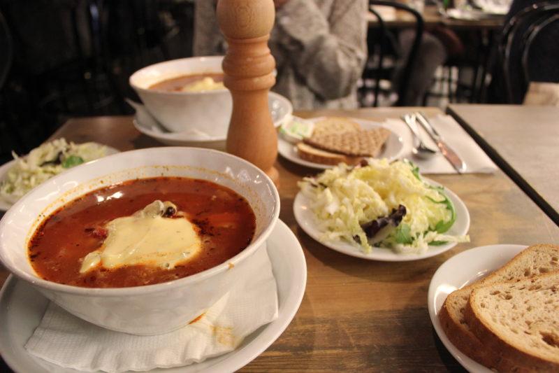 カイサスフィスクの魚介スープ