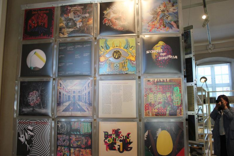 デザインミュージアムデンマークのレコードジャケット