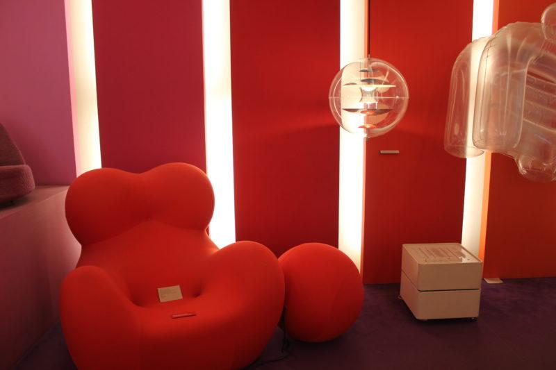 デザインミュージアムデンマークのおっぱい椅子