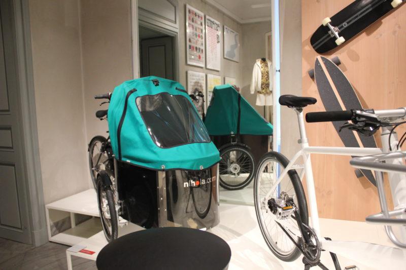 デザインミュージアムデンマークの逆三輪車