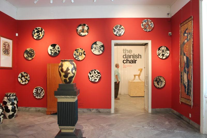 デザインミュージアムデンマークの工芸展示室