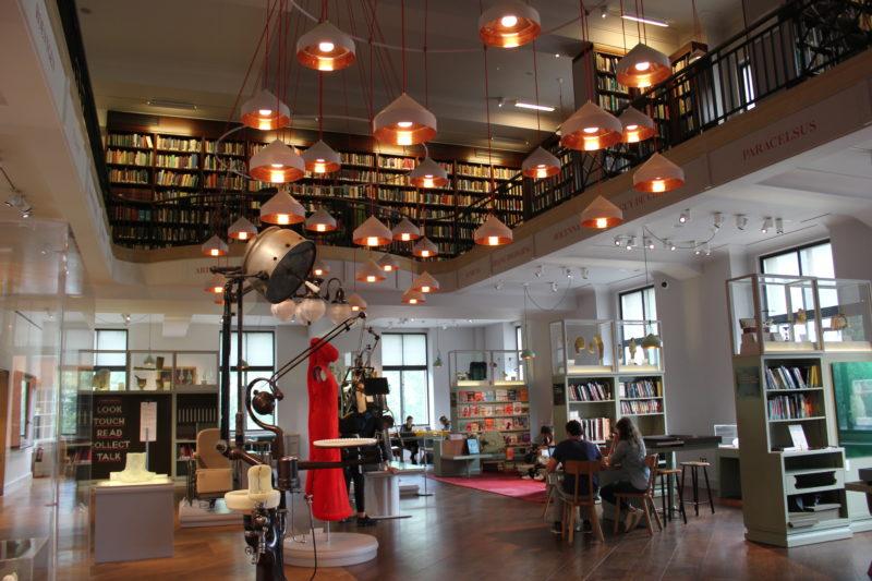 ウエルカムコレクションの図書館