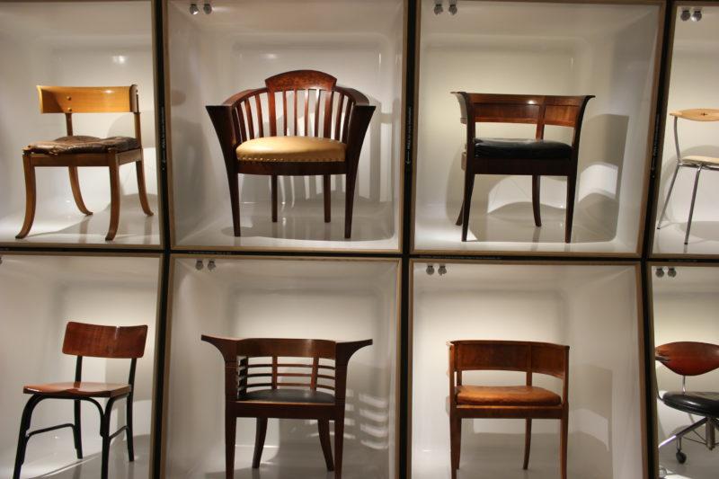 デザインミュージアムデンマークのデニッシュチェア