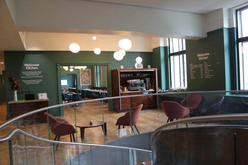 ウエルカムコレクションのカフェ
