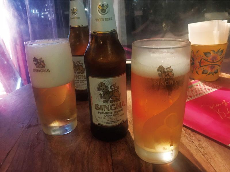 クルンサイアムのシンハービール