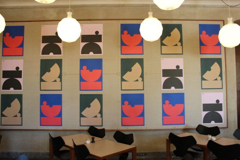 デザインミュージアムデンマークのカフェ