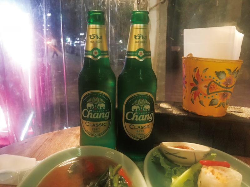 クルンサイアムのチャーンビール