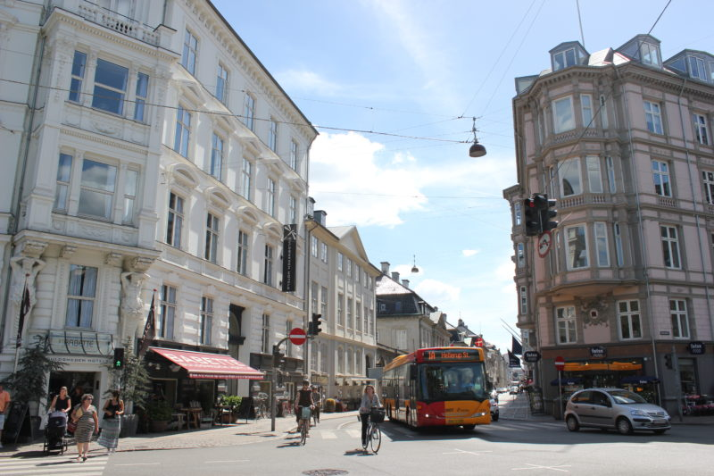 コペンハーゲンの街並み