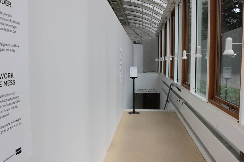 地下の展示室