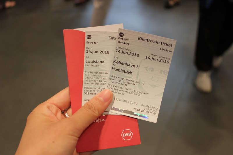 フムレベック行きのチケット