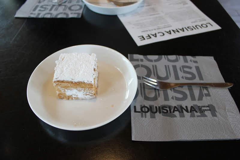 ルイジアナミュージアムのカフェ