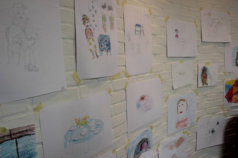 ルイジアナミュージアム 子供の絵画ワークショップ