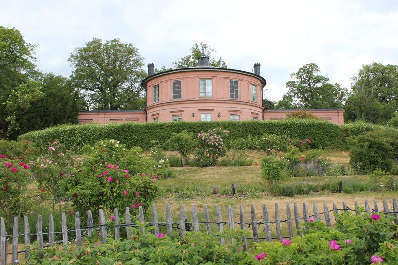 スウェーデンローゼンダールガーデンのバラ