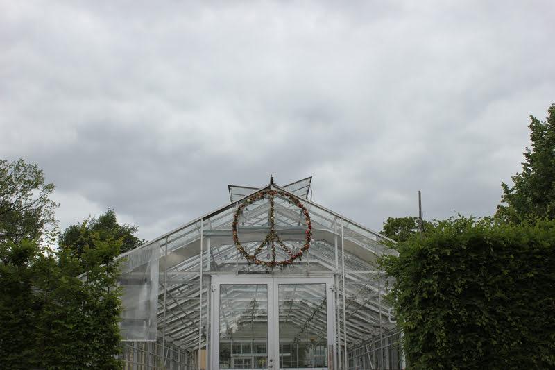 スウェーデンローゼンダールガーデンの温室
