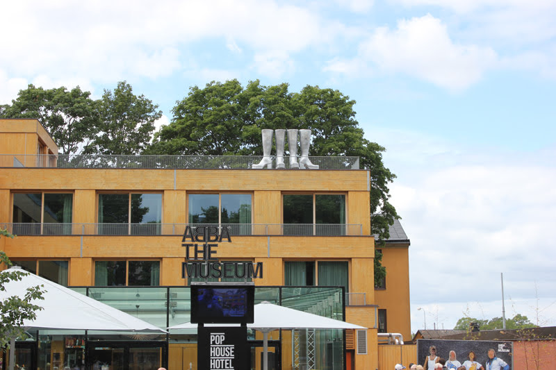 スウェーデンABBAミュージアム