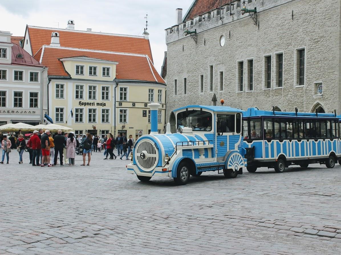 エストニアタリン旧市街