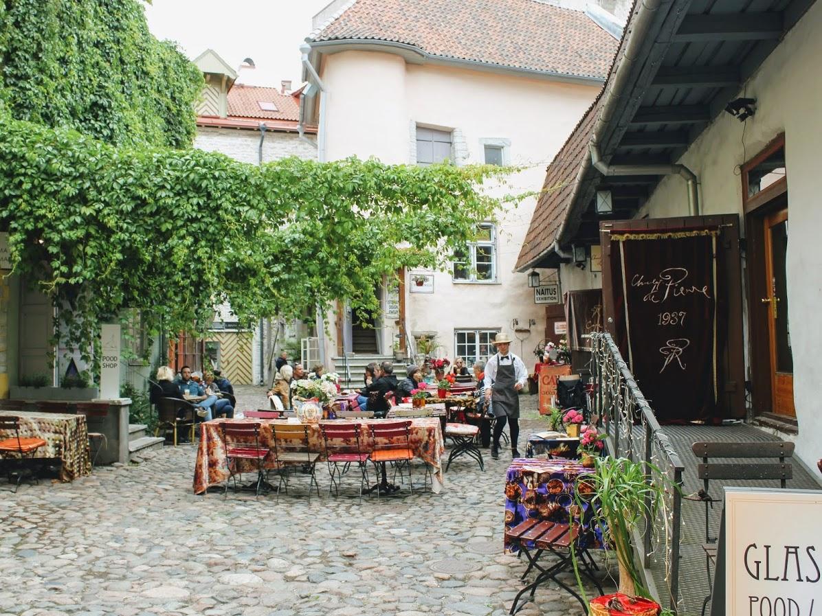 エストニアタリン旧市街のピエールショコラテリエ