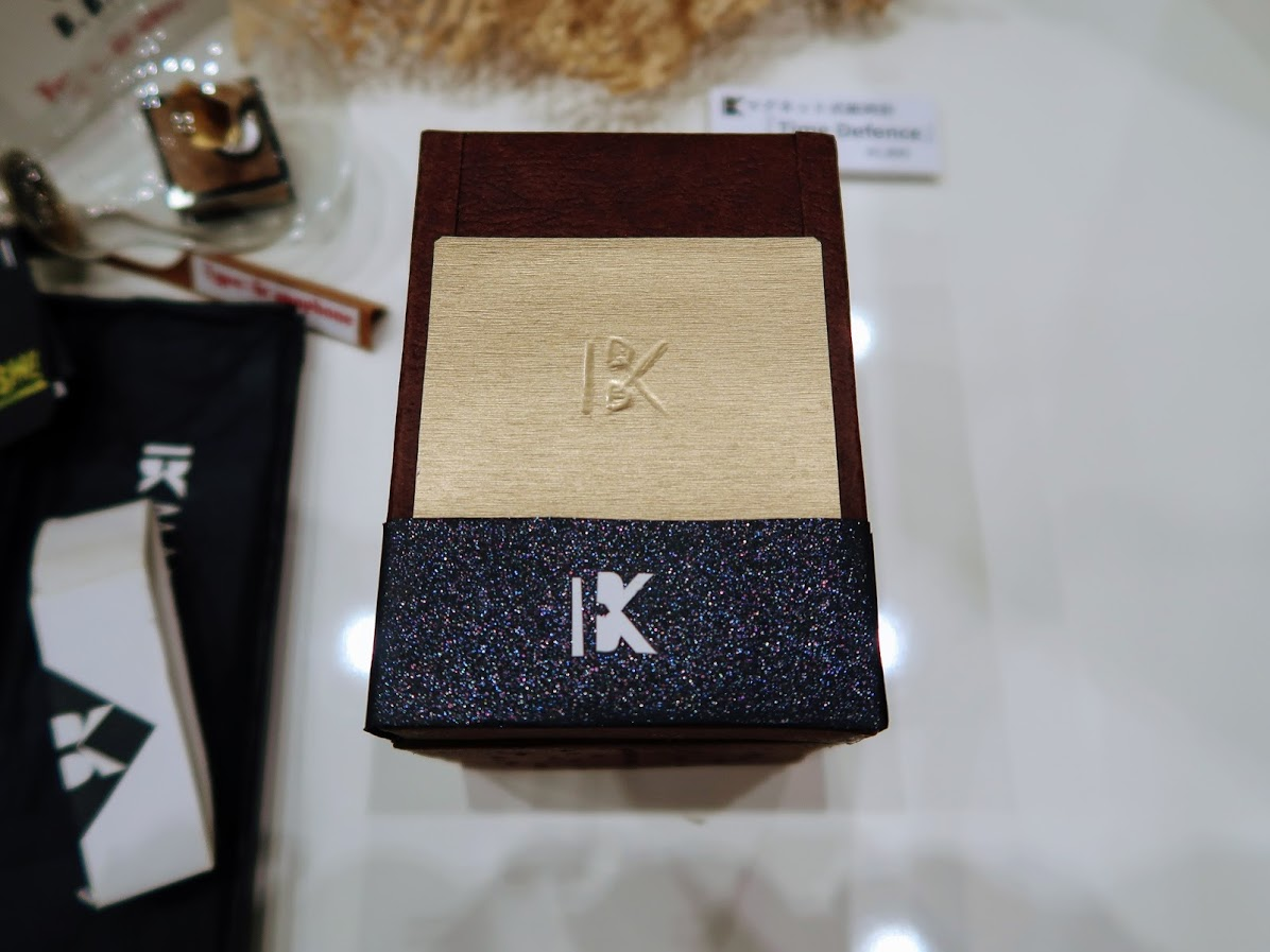 デザインフェスタのBBコリー紙箱