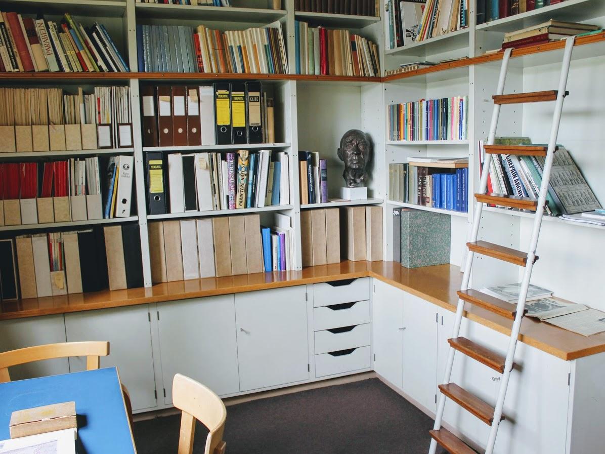 アアルトの自邸の書斎