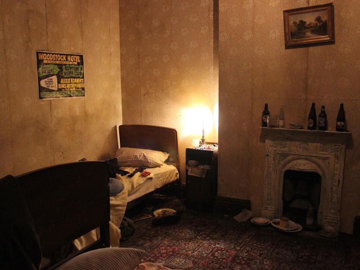 ローリングストーンズの結成当時の部屋