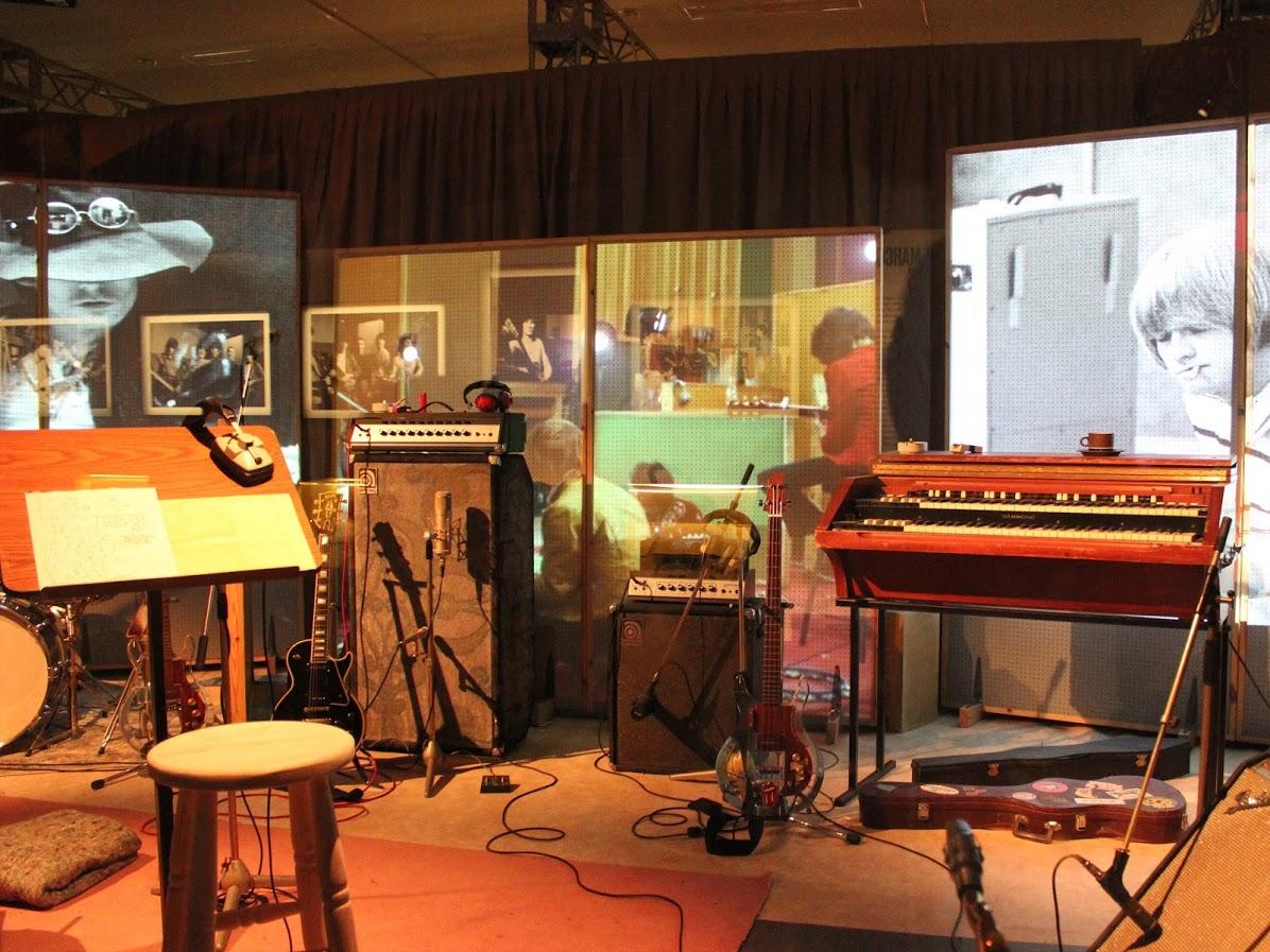 ローリングストーンズのスタジオ