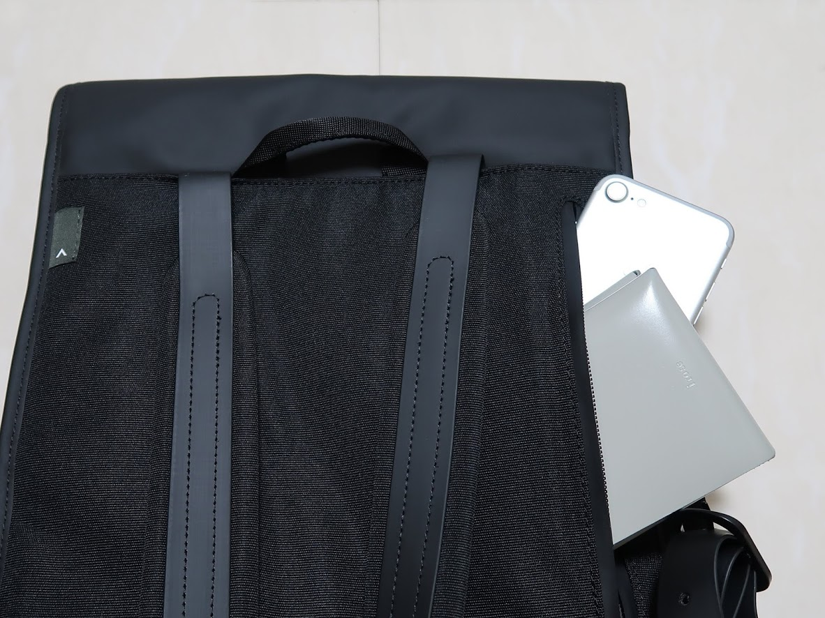 トポロジーのランセルバックパックの内側ポケット